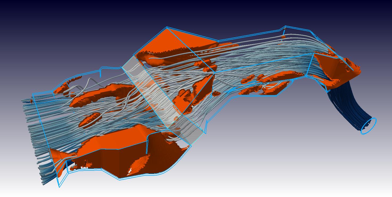 Duct Adjoint Optimization using OpenFOAM CFD Simulation Software