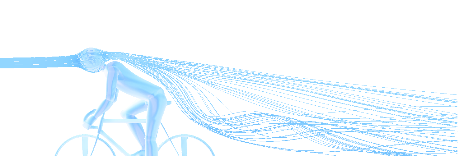 Bicycle OpenFOAM CFD simulation
