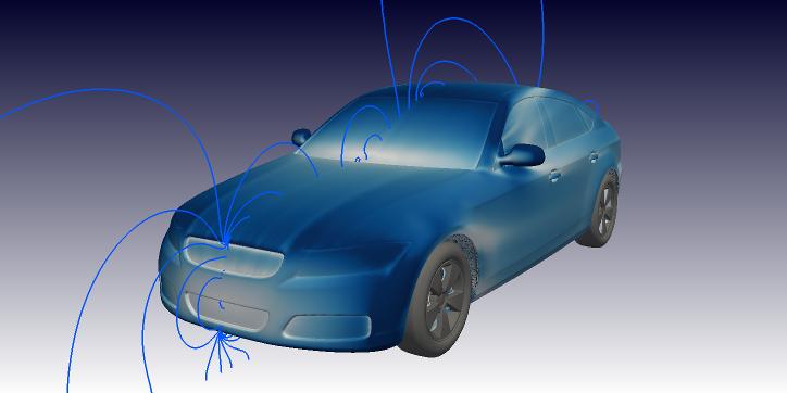 DrivAER OpenFOAM CFD simulation