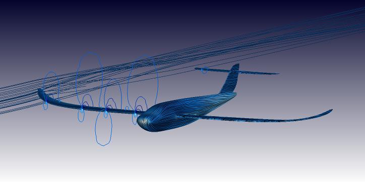 UAV OpenFOAM CFD simulation